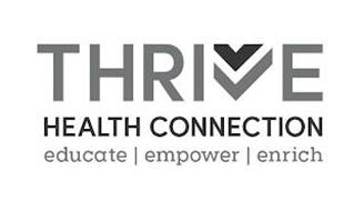 THRIVE HEALTH CONNECTION EDUCATE EMPOWER ENRICH
