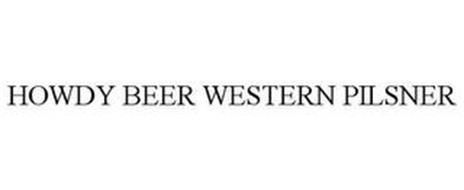 HOWDY BEER WESTERN PILSNER