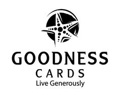 GOODNESS CARDS LIVE GENEROUSLY