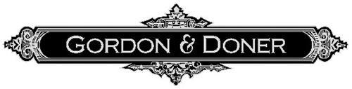 GORDON & DONER