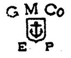 gm co ep trademark of gorham mfg co serial number