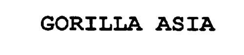 GORILLA ASIA