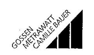 GOSSEN METRAWATT CAMILLE BAUER