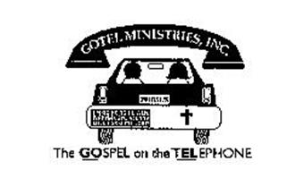 GOTEL MINISTRIES, INC. I JESUS I'M GOING TO HEAVEN, WANNA COME ALONG? CALL 1-800-252-LORD THE GOSPEL ON THE TELEPHONE