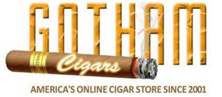 GOTHAM CIGARS AMERICA'S ONLINE CIGAR STORE SINCE 2001