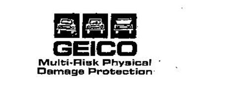 Geico Multi Risk Physical Damage Protection Trademark Of