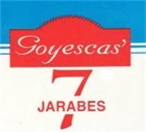 GOYESCAS' 7 JARABES