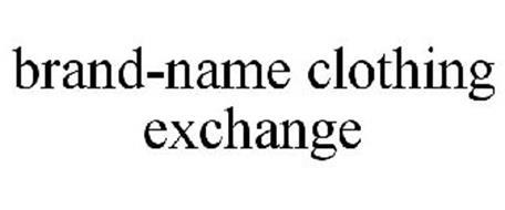 BRAND-NAME CLOTHING EXCHANGE