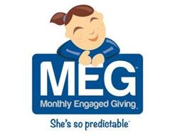 MEG, MONTHLY ENGAGED GIVING, SHE'S SO PREDICTABLE