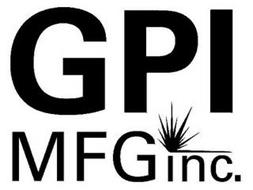 GPI MFG INC.