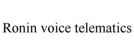 RONIN VOICE TELEMATICS