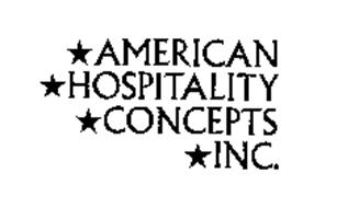 AMERICAN HOSPITALITY CONCEPTS INC.