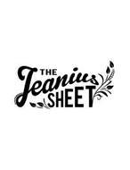 THE JEANIUS SHEET