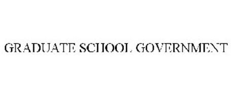 GRADUATE SCHOOL GOVERNMENT