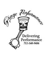 GRAGE PERFORMANCE DELIVERING PERFORMANCE 712-540-9486