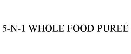 5-N-1 WHOLE FOOD PUREÉ