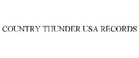 COUNTRY THUNDER USA RECORDS