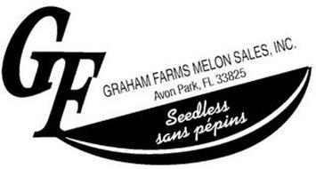 GF GRAHAM FARMS MELON SALES, INC. AVON PARK, FL 33825 SEEDLESS SANS PÉPINS