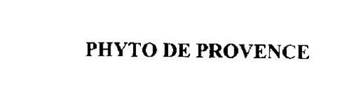 PHYTO DE PROVENCE