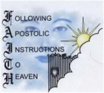 FOLLOWING APOSTOLIC INSTRUCTIONS TO HEAVEN