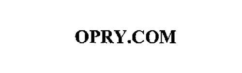 OPRY.COM
