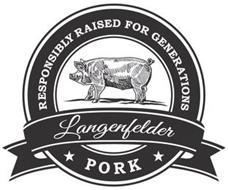 LANGENFELDER PORK RESPONSIBLY RAISED FOR GENERATIONS