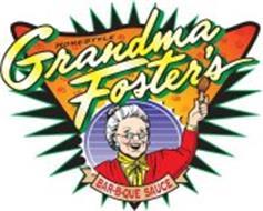 HOMESTYLE GRANDMA FOSTER'S BAR-B-QUE SAUCE