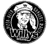 W WILLYS GARAGE PIZZA-BEER BURGERS-MALTS