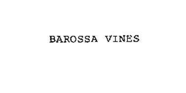 BAROSSA VINES