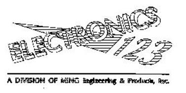 ELECTRONICS 123 A DIVISION OF MING ENGINEERING & PRODUCTS, INC.