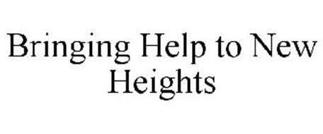 BRINGING HELP TO NEW HEIGHTS