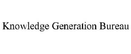 KNOWLEDGE GENERATION BUREAU