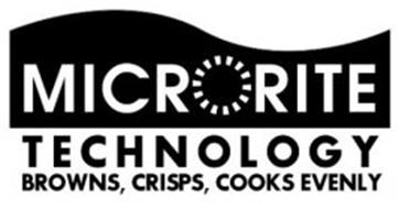 MICRORITE TECHNOLOGY BROWNS, CRISPS, COOKS EVENLY