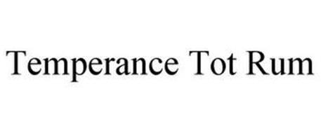 TEMPERANCE TOT RUM