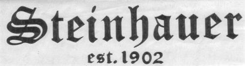 STEINHAUER EST. 1902