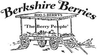 BERKSHIRE BERRIES 800-5-BERRYS THE BERRY PEOPLE GRAVES