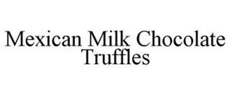 MEXICAN MILK CHOCOLATE TRUFFLES