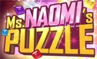 MS. NAOMI'S PUZZLE