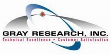 GRAY RESEARCH, INC. TECHNICAL EXCELLENCE CUSTOMER SATISFACTION