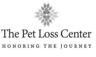 THE PET LOSS CENTER HONORING THE JOURNEY