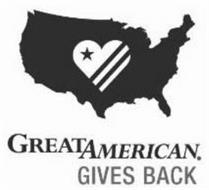 GREAT AMERICAN. GIVES BACK