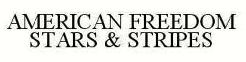 AMERICAN FREEDOM STARS & STRIPES