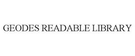 GEODES READABLE LIBRARY
