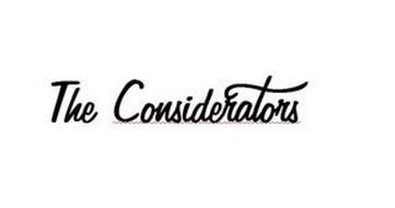 THE CONSIDERATORS