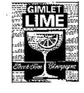 GIMLET LIME THINK FINE CHAMPAGNE