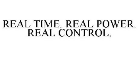 REAL TIME. REAL POWER. REAL CONTROL.