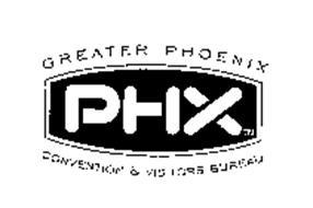 GREATER PHOENIX PHX CONVENTION & VISITORS BUREAU