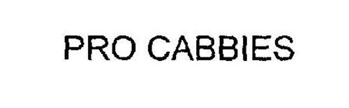 PRO CABBIES