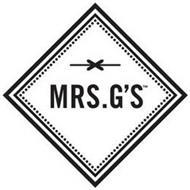 MRS.G'S