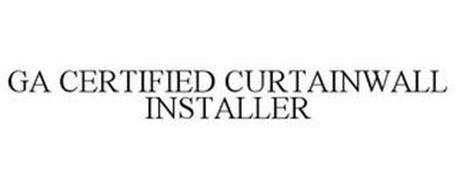 GA CERTIFIED CURTAINWALL INSTALLER